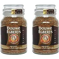 Douwe Egberts Pure Indulgence 速溶咖啡罐,深烘焙 7.05 Ounce (Pack of 2)