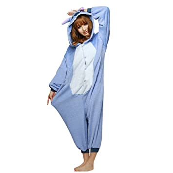 vari colori selezionare per lo spazio acquista per Moollyfox Kigurumi Pigiama Unisex Adulto Cosplay Costume Animale Pigiama  Blu M