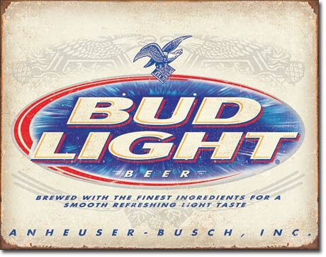 New Bud Light Budweiser Beer 16