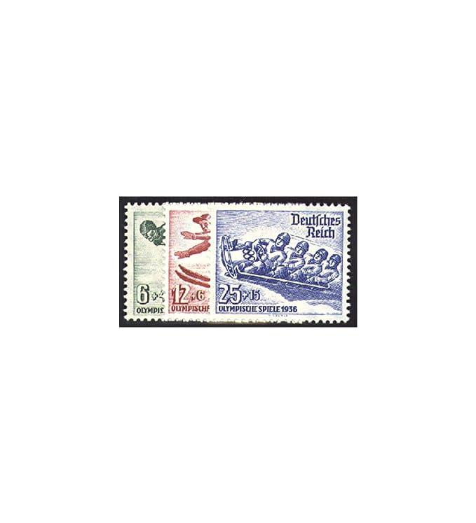 588-597 gestempelt Nothilfe Volkstrachten 1935 Briefmarken f/ür Sammler Goldhahn Deutsches Reich Nr