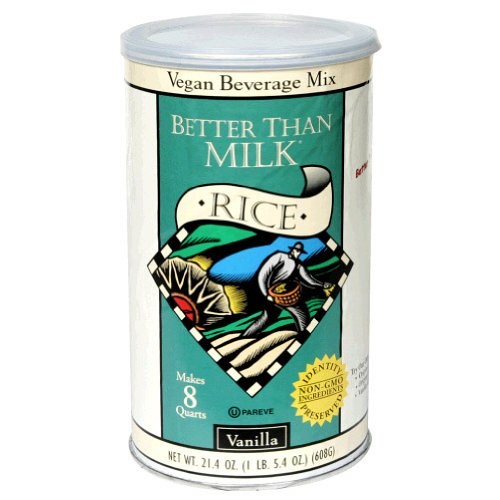 Better Than Milk, Mix Rice Vanilla Enriched, 21-Fluid Ounce (6 Pack) by Better Than Milk