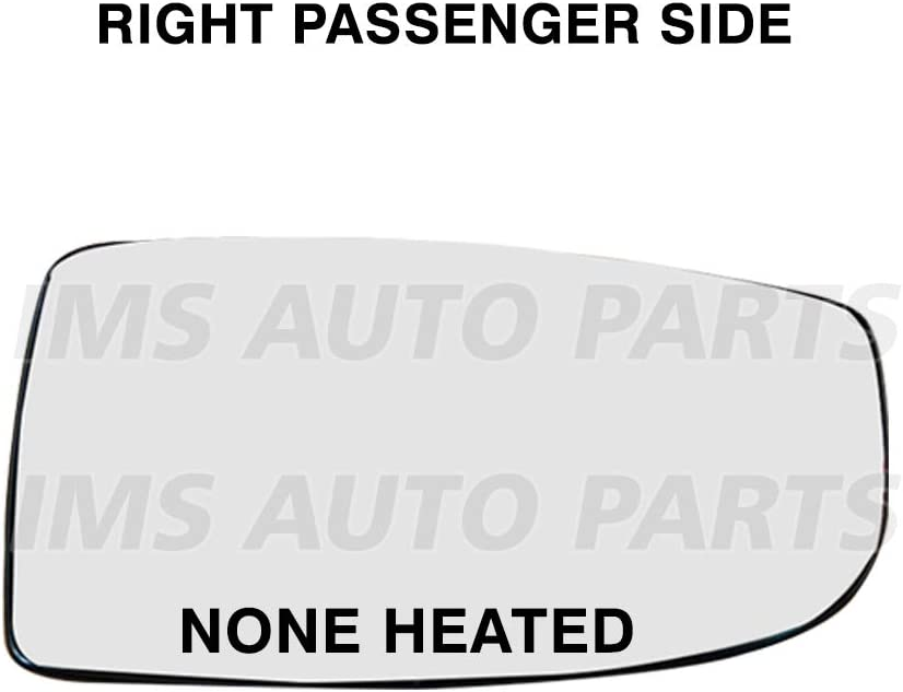 IMS auto parts Ford Transit Cargo 150 250 350 Mirror Small Glass None Heated Plus Backing Plate Right Passenger Side 2014 To 2017
