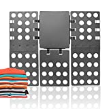 ValueHall Magic Clothes Folding Board Adult T-Shirt Laundry Organizer Clothes Flip Folder - Crease in a Few Easy Steps V7031-1 (Gray)