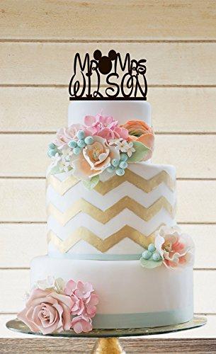 Wedding Cake topper Disney Wedding?: Amazon.co.uk: Kitchen & Home