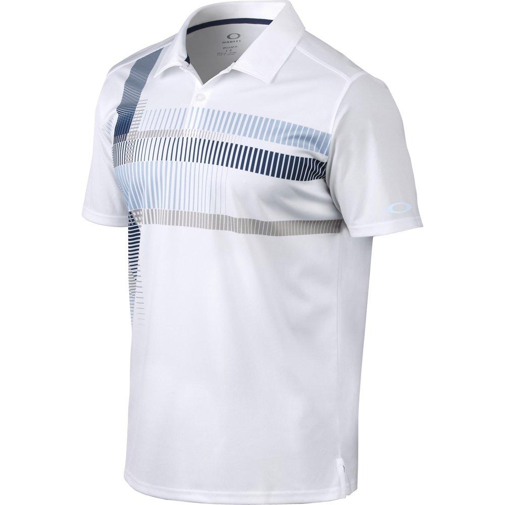 Oakley Delta Camisa de Polo para Hombre Azul Azul Marino Talla ...