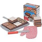 Melissa & Doug Wooden Bake and Serve Brownies