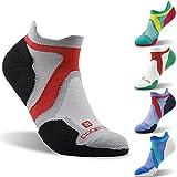 Merino Wool Socks, 1/3 Pairs, ZEALWOOD Running Cycling Socks,Cushion Hiking Socks