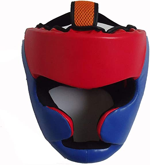 Boxing Helmet MMA Muay Thai Headgear Head Chin Ear Cheek Protection Head Guard