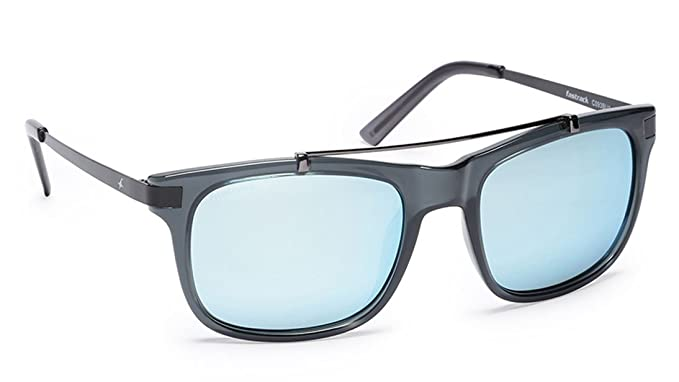 Buy Fastrack Mirrored Square Men's Sunglasses (C093BU1|54