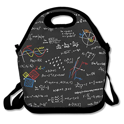 NEWINESS Kids & Adults Math Lesson Insulated Neoprene