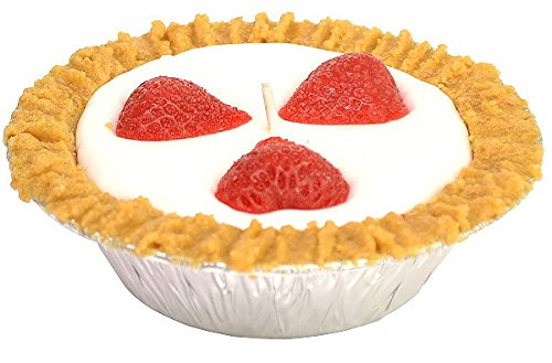 5 inch Strawberry Pie Candles ()
