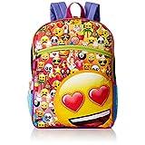 EMOJI Girls' 5 in 1 Backpack, Multi