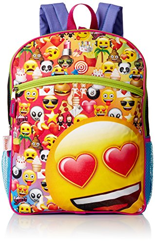 EMOJI Girls' 5 in 1 Backpack
