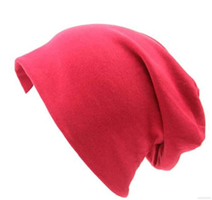 MXM Autumn Beanie Women Cotton Solid Cost Performance Casual ... 92642760b2