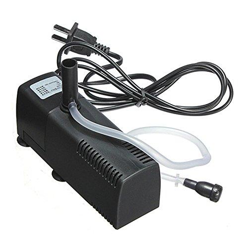 2 Outlet Gang Valve (8w 600l/h 220-240v/50hz Aquarium Internal Filter For Fish Tank Submersible Pump With Spray Bar 55 X 48 X 132mm)