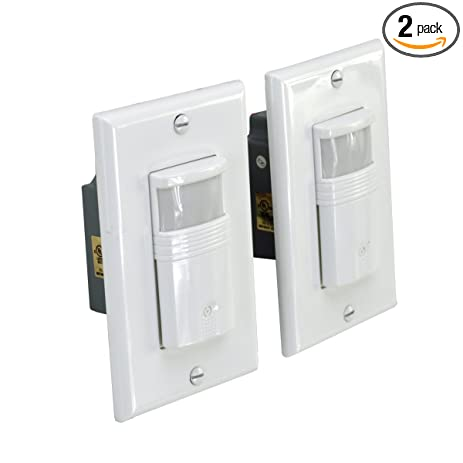 Homeselects 1309 pir wall switch occupancy vacancy sensor 180 homeselects 1309 pir wall switch occupancy vacancy sensor 180 degree sensing automatic sciox Image collections