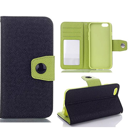 Pluscase,iPhone 6 Case,Ezydigital Carryberry iPhone 6(Plus)Case,iPhone 6 Cases Luxury Fashion PU Leather Magnet Wallet Creadit Card Holder Flip Case Cover for iPhone 6