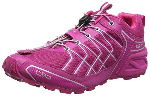 C.P.M. Super X - Zapatillas de running Mujer Pink (Scarlet H431)