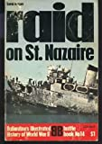 Front cover for the book Raid on St. Nazaire by David Mason