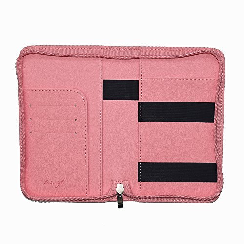 Phone Charging Passport Holder - Travel Case with New & Improved Power Bank - iPhone, Galaxy & More - RFID Blocking Security - Unique Zipper Closure - Travel Document, Cards & Money Holder