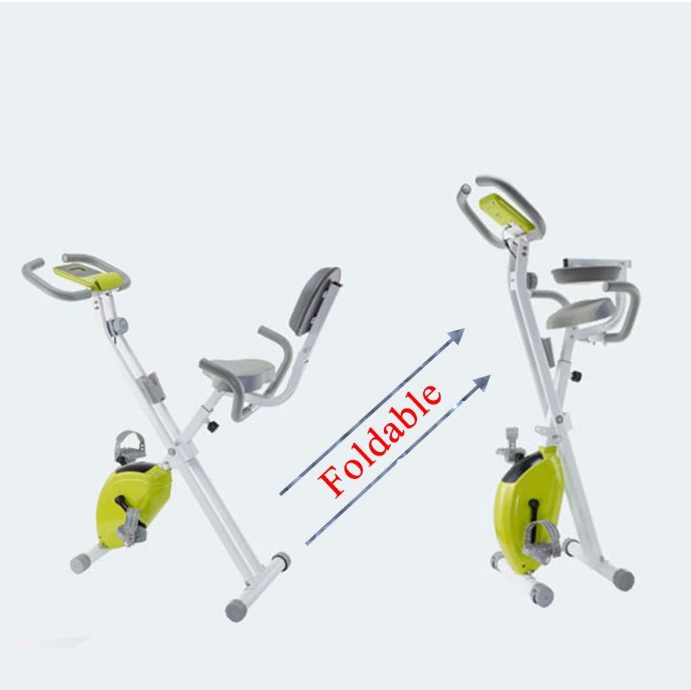 TXDWYF Bicicleta Estatica Plegable Adulto/Ejercicio en Casa/Bicicletas Estáticas y de Spinning para Fitness/F-Bike/Heimtrainer/Bicis Estaticas, Máquinas de Piernas, Unisex
