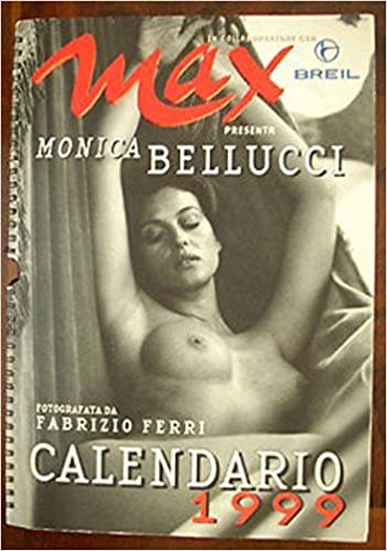 Calendario Max 2000.Amazon It Calendario Max 1999 Monica Bellucci Monica