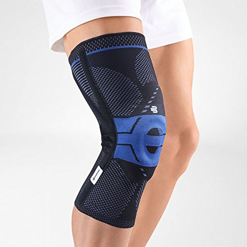 Bauerfeind - GenuTrain P3 - Knee Support - for Misalignment of The Kneecap - Right Knee - Size 4 - Color Black