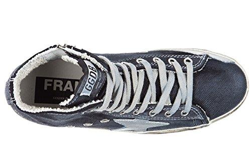 Golden Goose zapatos zapatillas de deporte largas mujer nuevo francy blu
