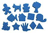 Roylco Super Value Dip & Print Painting Favorite Shapes Paint Sponges