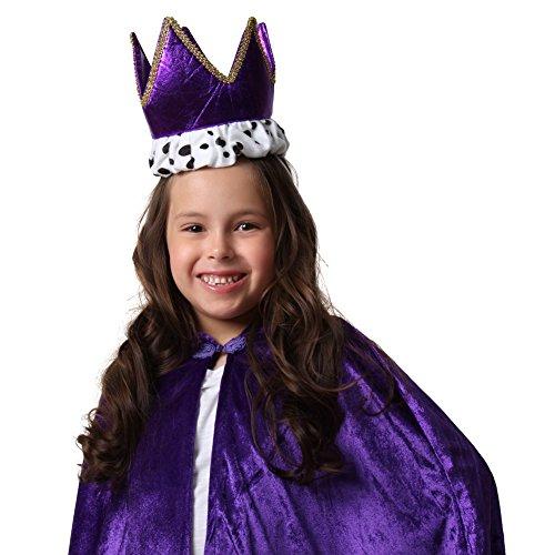 Purple Royal Crown - Make Nativity Costumes