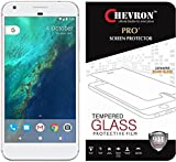 Chevron Google Pixel XL Premium Tempered Glass Screen Protector Skin Cover