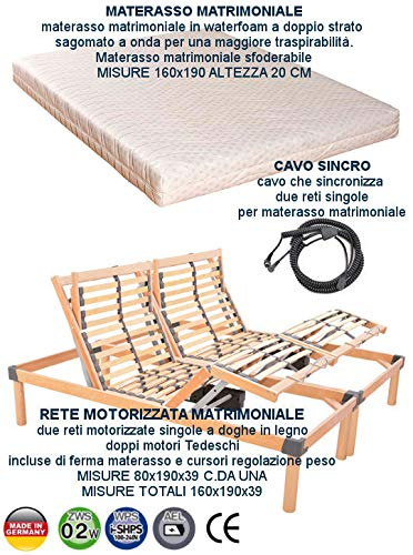 OFFERTA RETE ELETTRICA MOTORIZZATA MATRIMONIALE CON ...
