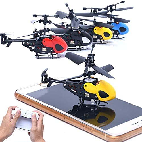 Heli Radio Air Rc (BeesClover RC 2CH Mini Heli-Copter Radio Remote Control Aircraft Micro 2 Channel Gift for Kids Toy X# Dropship Gray)