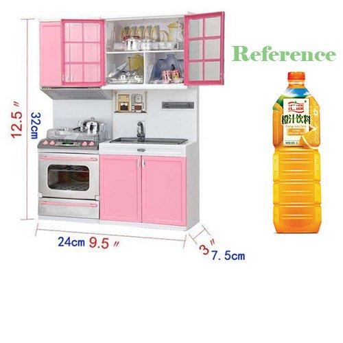 zimo juguetes de cocina para nios cocinero gabinete estufa infantil juego de imaginacin color rosa regalo para nias nios amazones juguetes y juegos