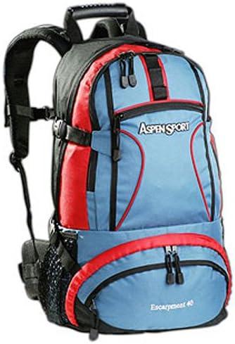 ASPENSPORT Sac-/à-doc Outdoor Contenance 40 L avec dispositif de boisson rouge