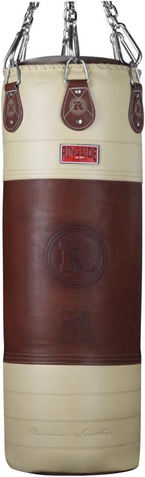 Ringside Heritage 90-pound Genuine Leather Boxing Punching Heavy Bag