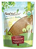 Organic Alfalfa Sprouting Seeds by Food to Live (Non-GMO, Kosher, Bulk) — 3 Pounds