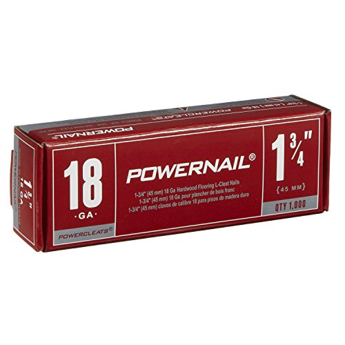 Powernail 18 Gage 1-3/4'' Cleats. Box of 1,000 by Powernail