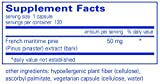 Pure Encapsulations - Pycnogenol 50 mg - Hypoallergenic Supplement to Promote Vascular Health and Provide Antioxidant Support - 120 Capsules Discount