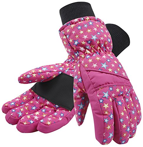 Simplicity Kid's Thinsulate Lined Windproof & Waterproof Snow Ski Gloves – DiZiSports Store