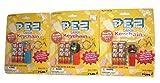 Pez Circus Key Chain Keyring Set of 3 Gorilla Pony Lion Basic Fun Series #2 Complete