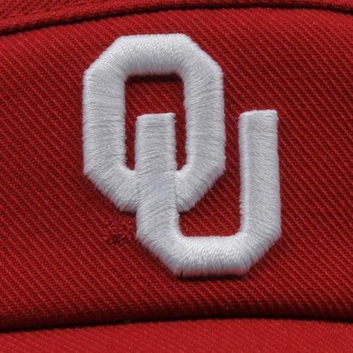 Crimson NCAA Oklahoma Sooners Sideline Dri-FIT Adjustable Performance Visor