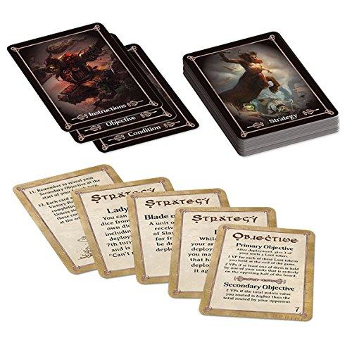KINGS OF WAR BATTLEFIELD CARDS ()