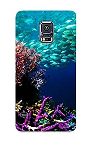[csrucb-3723-ggnzrib]premium Phone Case For Galaxy S5/ Nature Fish Tpu Case Cover(best Gift Choice)