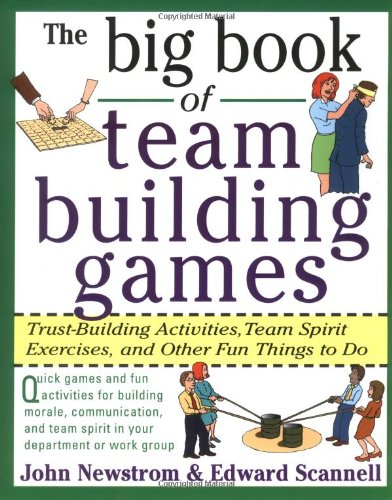 team building book of ideas games activities