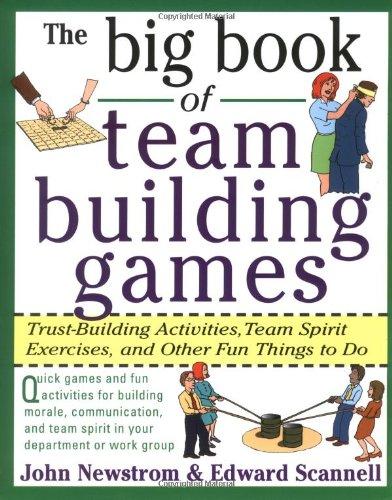 team building book of ideas games activities