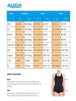 AUGA Women Conservative Athletic Training Racerback Shaping Body One Piece Swimsuit Swimwear Bathing Suit