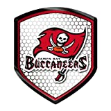 Tampa Bay Buccaneers Shield Style Reflector 2.5'' x 3.5''