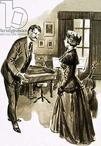 One of Edward elgars Pupils Was Attractive Caroline Alice Roberts (302164), lino, 50 x 70 cm