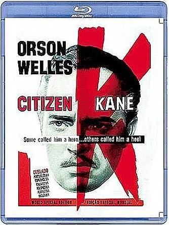 Citizen Kane, Ciudadano Kane, Cidadão Kane, Quarto Potere / Blu Ray / Dubbed